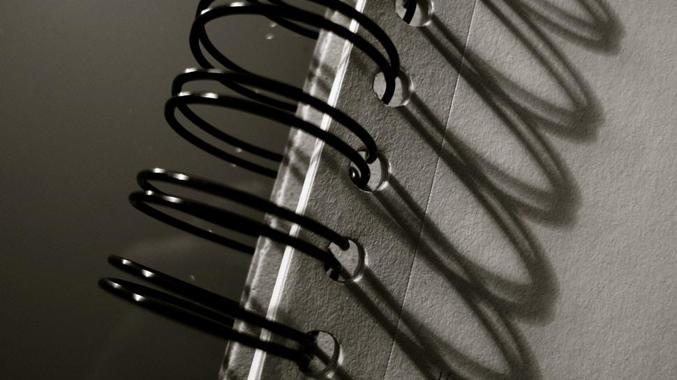 Im Atelier: Spiralheftung - Einar Turkowski