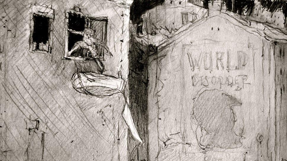 Im Atelier: Schnelle Skizzen - Einar Turkowski
