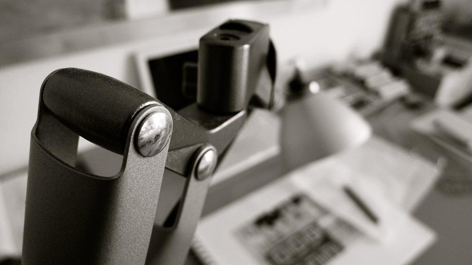 Im Atelier: Blick auf den Schreibtisch - Einar Turkowski