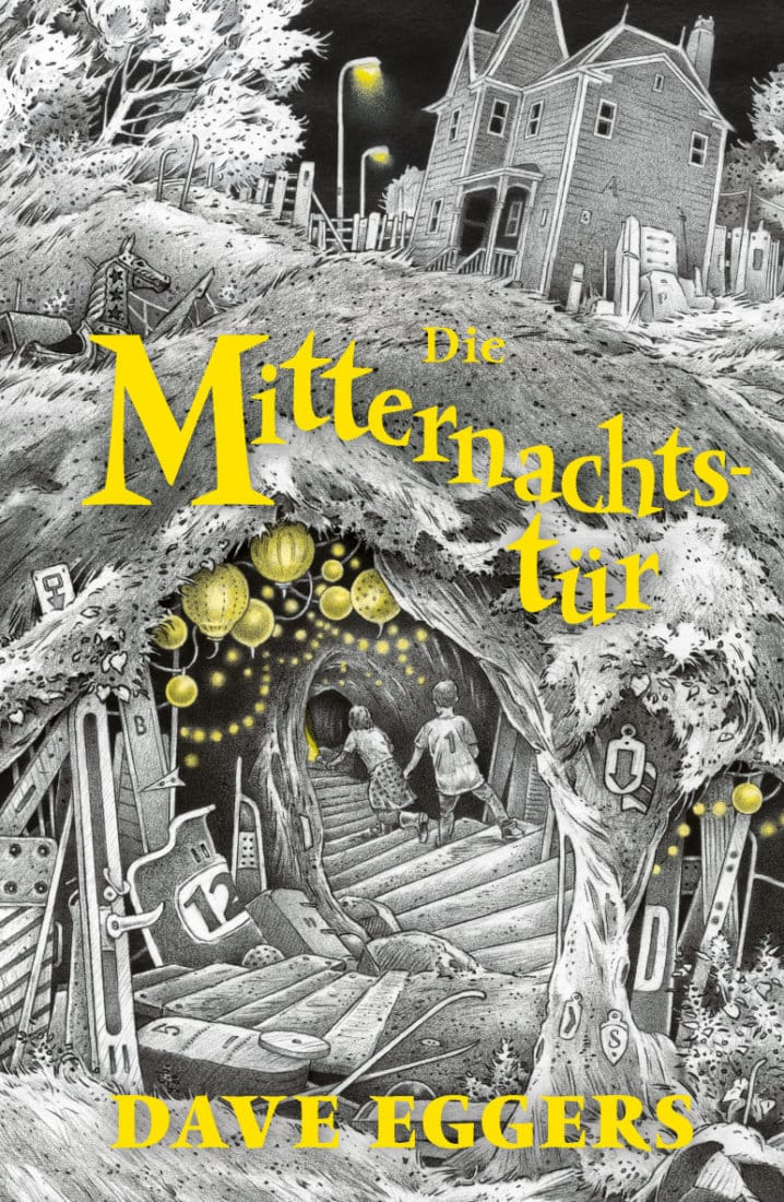 Cover Die Mitternachtstür von Einar Turkowski