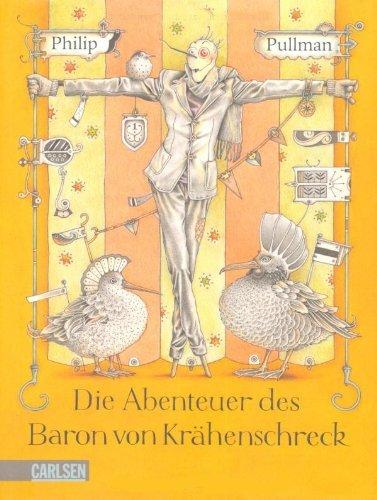 """Cover zu Philip Pullmans """"Die Abenteuer des Baron von Krähenschreck"""" von Einar Turkowski"""