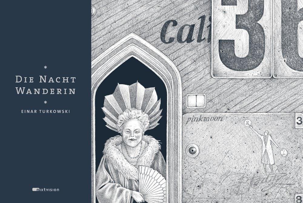 Cover Die Nachtwanderin 2015 Einar Turkowski