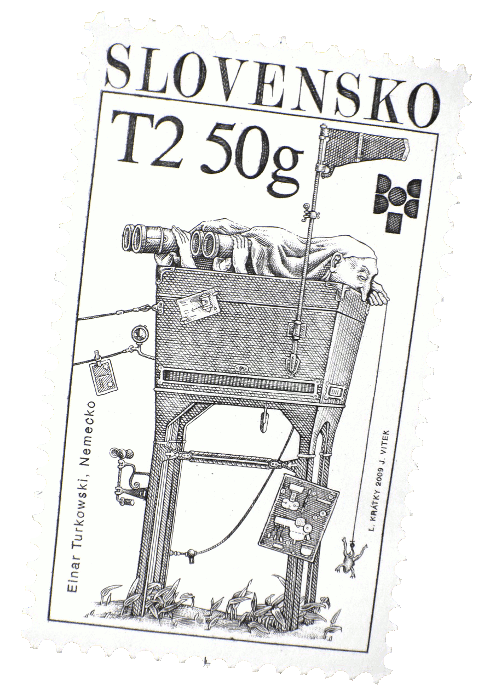Briefmarke Nemecko, Slovensko 2009 - Einar Turkowski