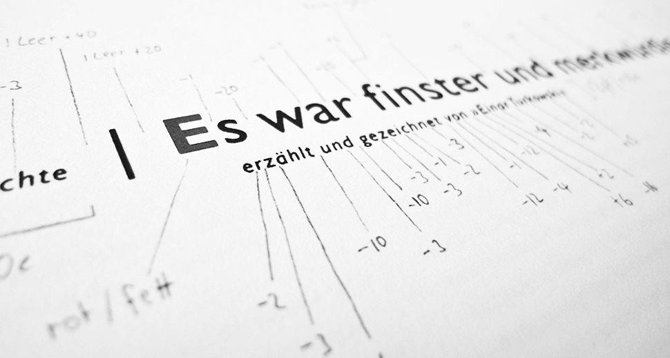 Im Atelier: Schriften Feintuning - Einar Turkowski